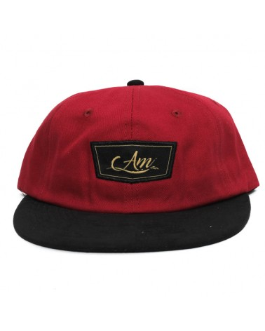 Gorra Amateur rojo negro